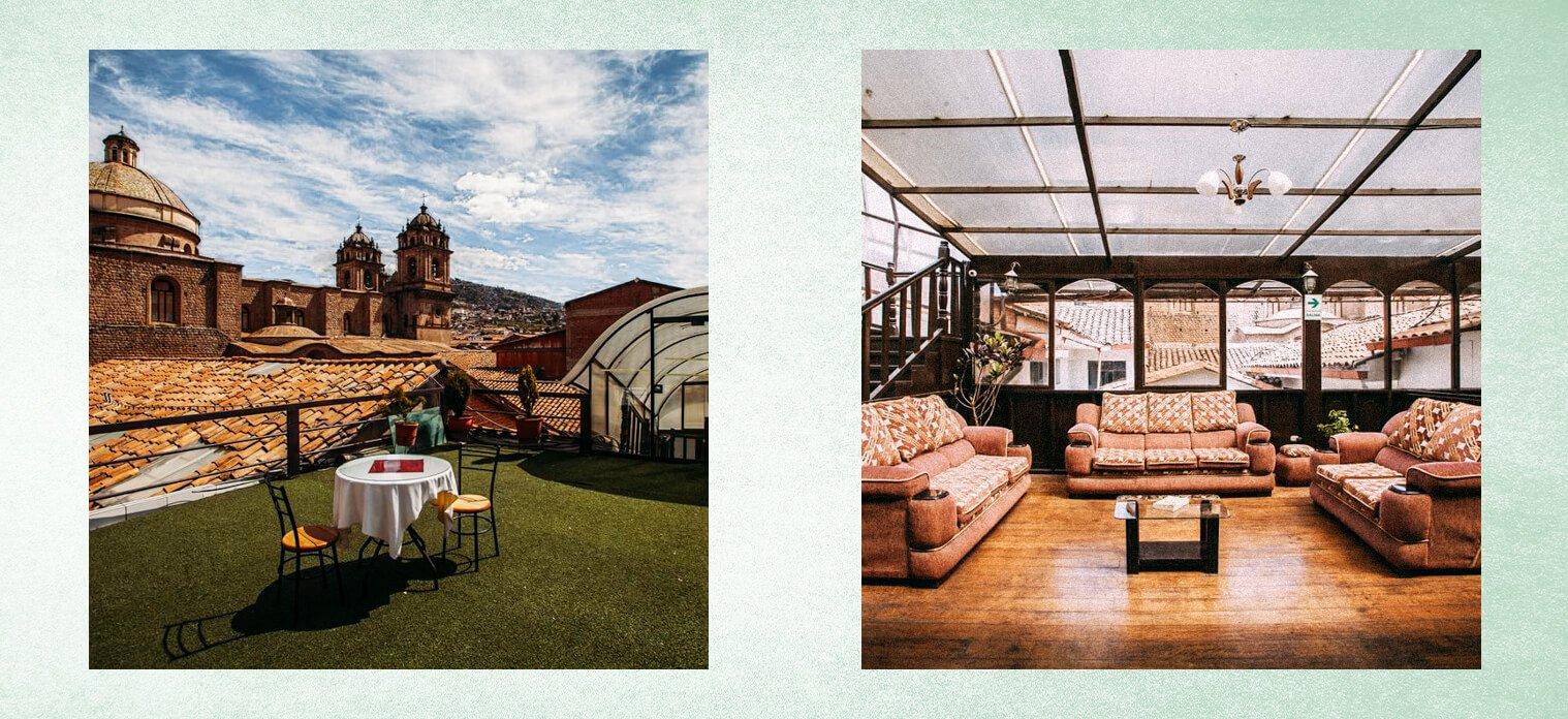 Onde ficar em Cusco - Hotel Santa Maria