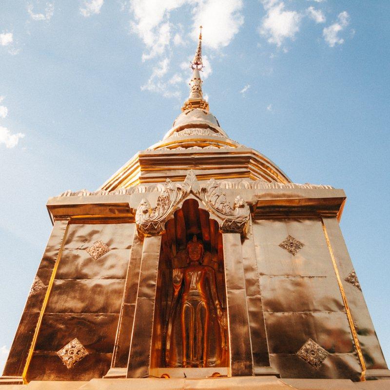 Templo Wat Phra Singh - Chiang Mai Tailândia