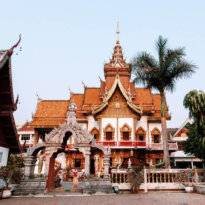 Chiang Mai, Tailândia - Wat Buppharam