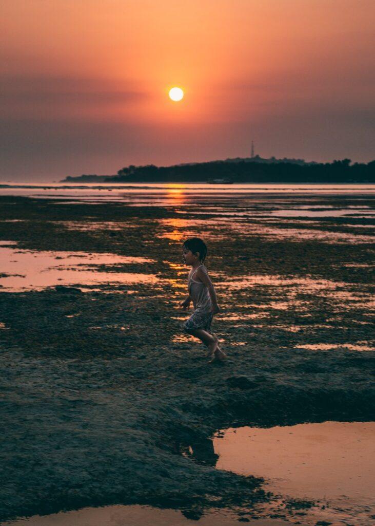 Gili Air - por do sol na ilha