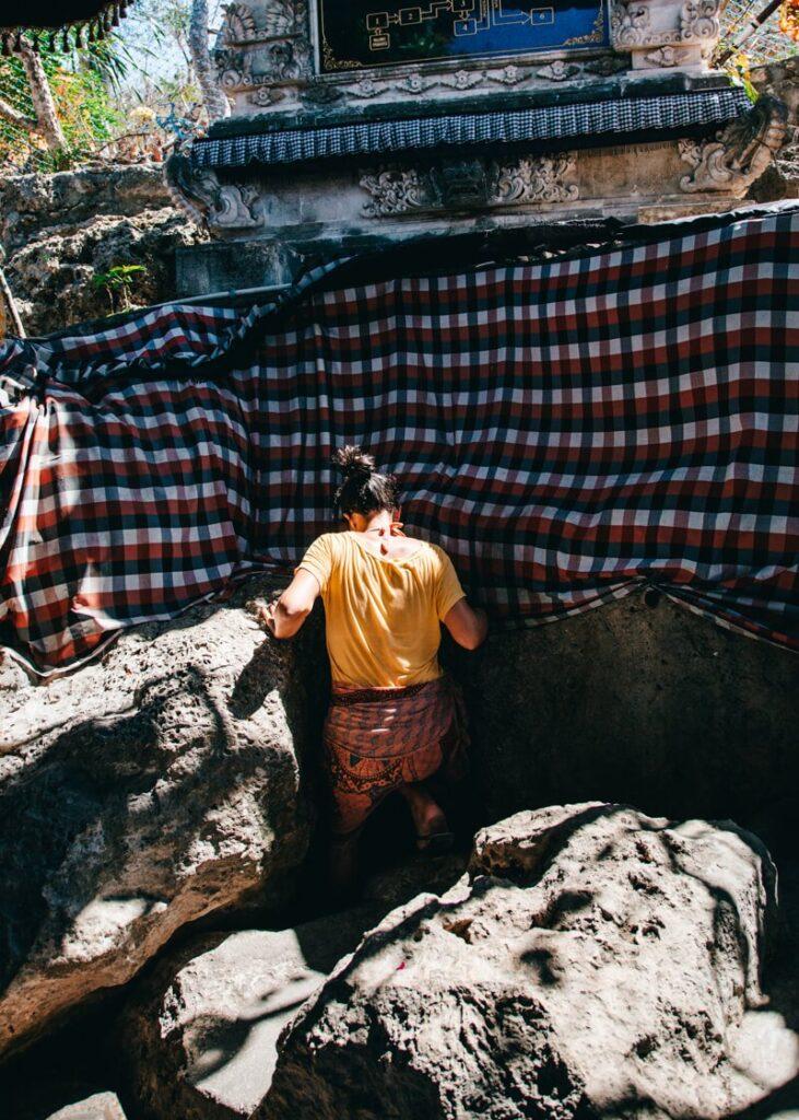 Nusa Penida - Puri Goa Giri Putri - entrada