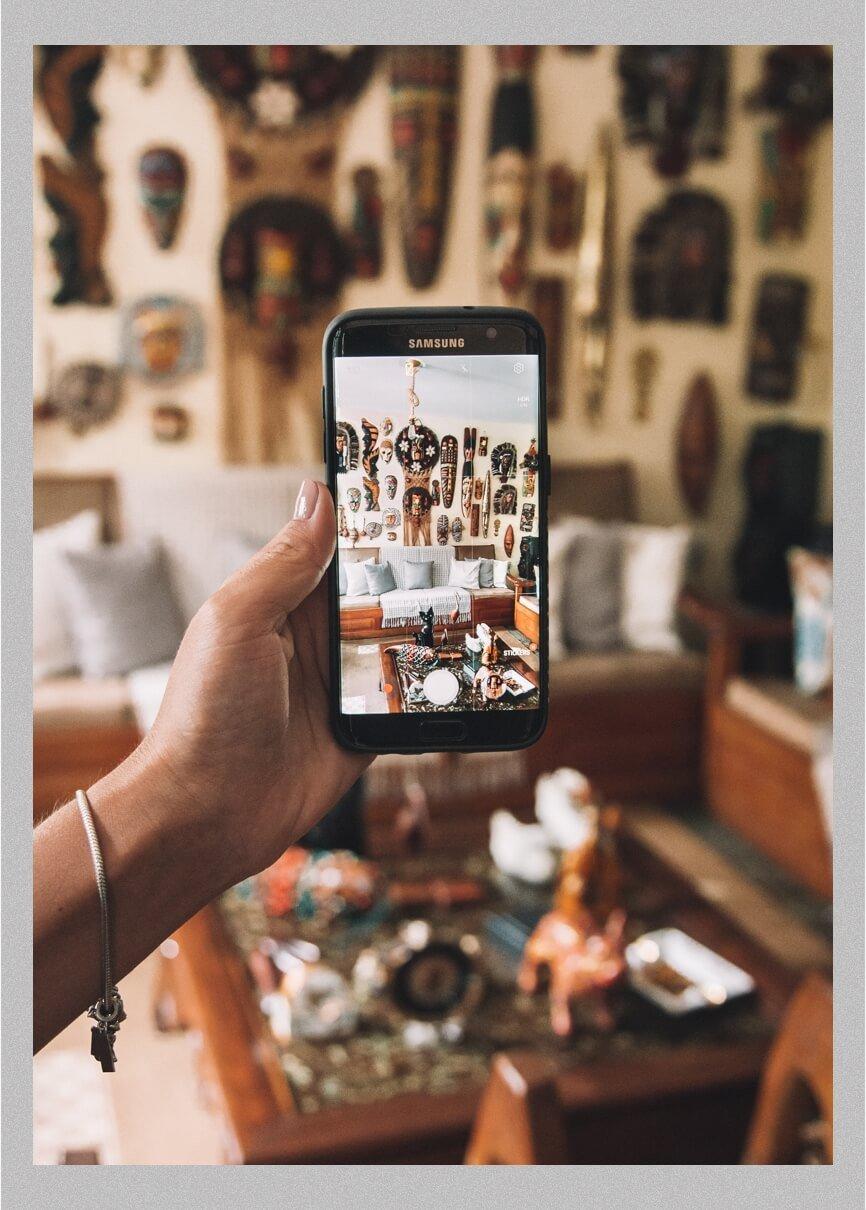 Equipamentos fotográficos - fotografia de viagem - foto com celular