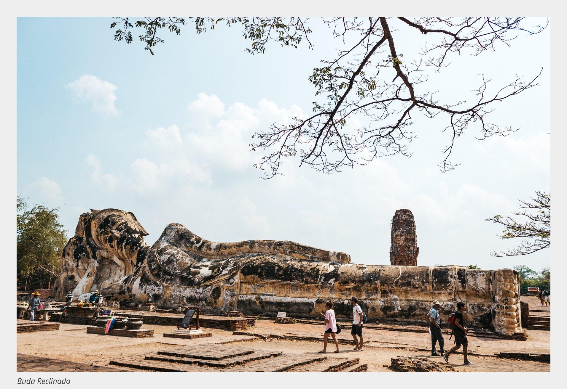 Ayutthaya: Buda Reclinado