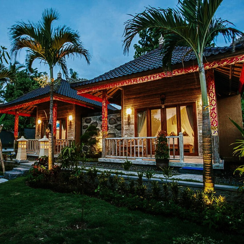 Onde ficar em Nusa Ceningan - Blue Lagoon