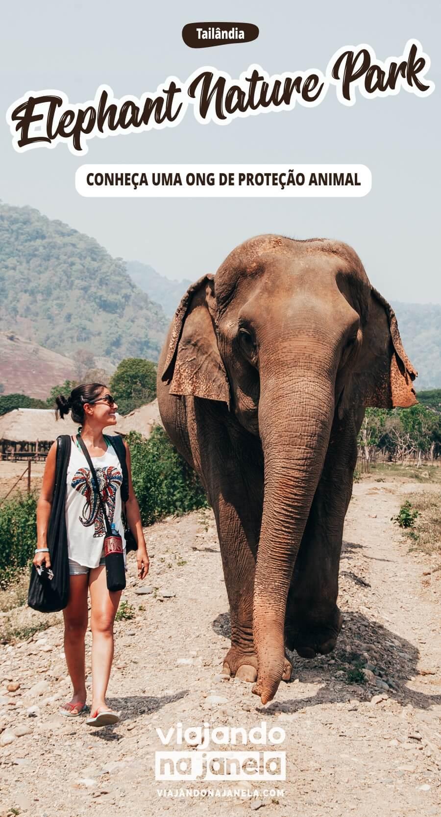 Elephant Nature Park, Chiang Mai, Tailândia