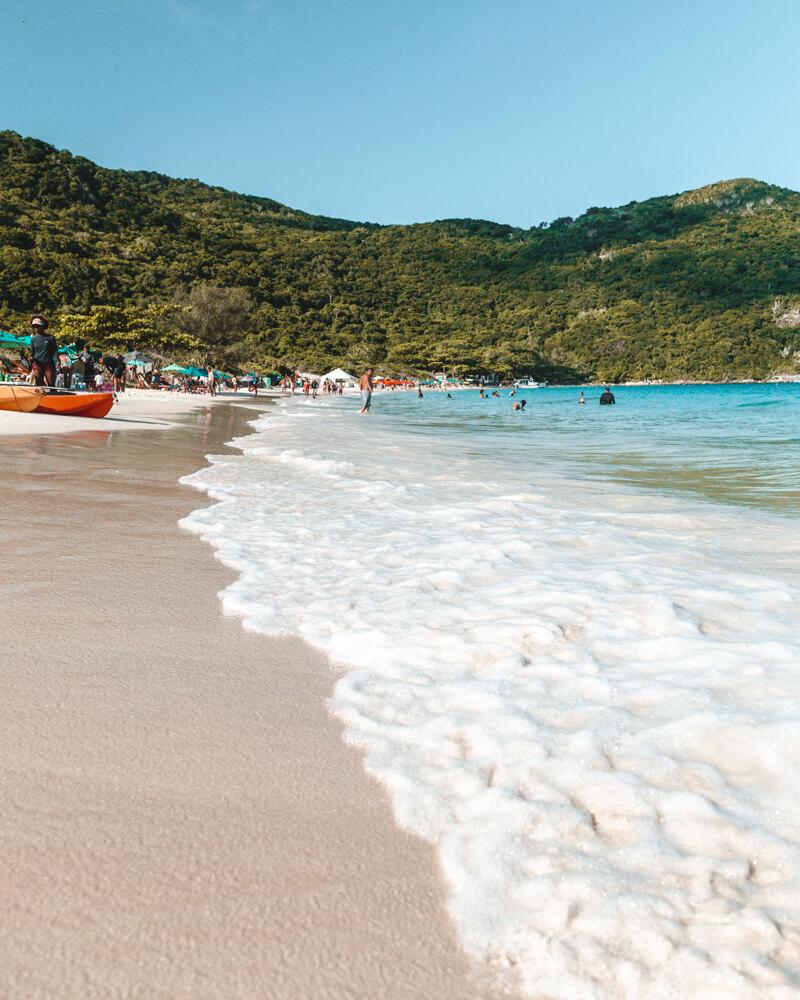 melhores praias de Arraial do Cabo: Praia do Forno