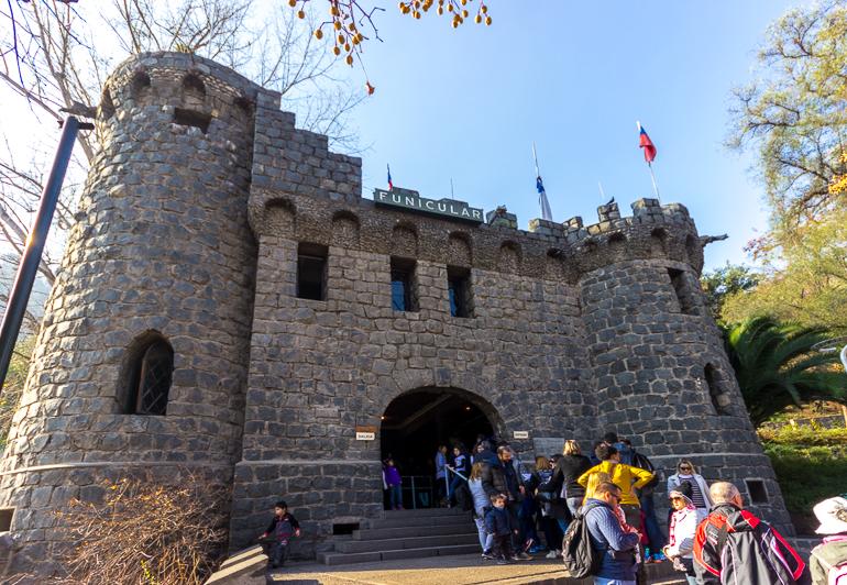 Entrada do Funicular