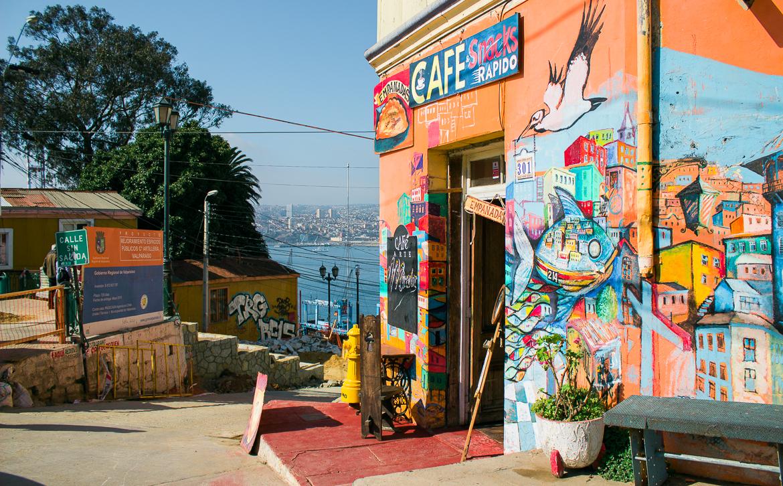 Valparaíso | Viajando na Janela