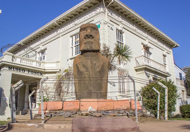 Moai em Viña del Mar