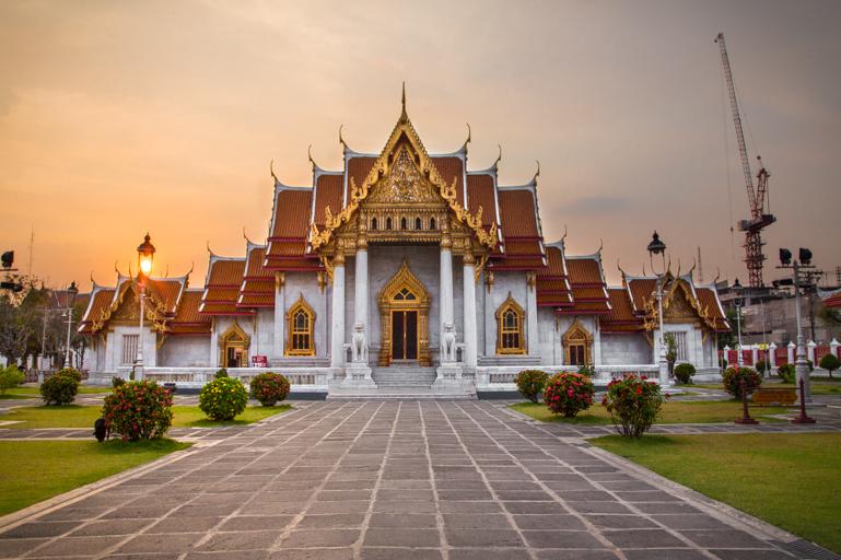 Wat Benchamabophit (Templo de Mármore)