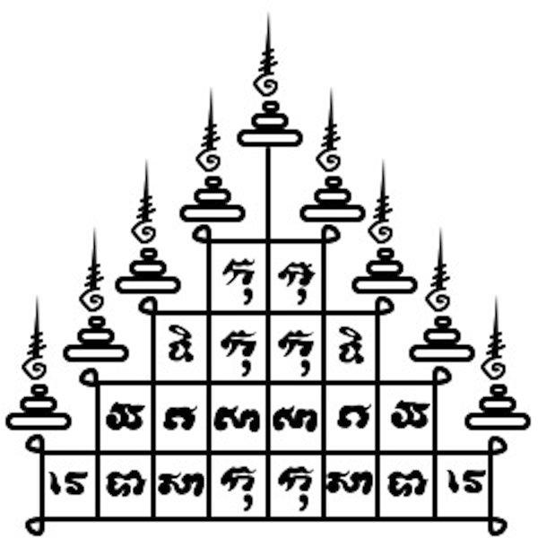 Em Bangkok você pode fazer uma tatuagem sagrada chamada Sak Yant