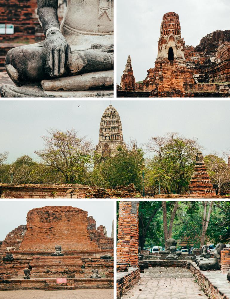 Ruínas de em Ayutthaya