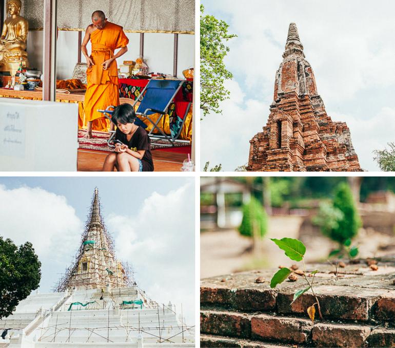 Ayutthaya por Viajando na Janela