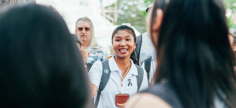 Guia do passeio em Ayutthaya