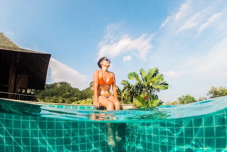 Piscina do Railay Princess Resort