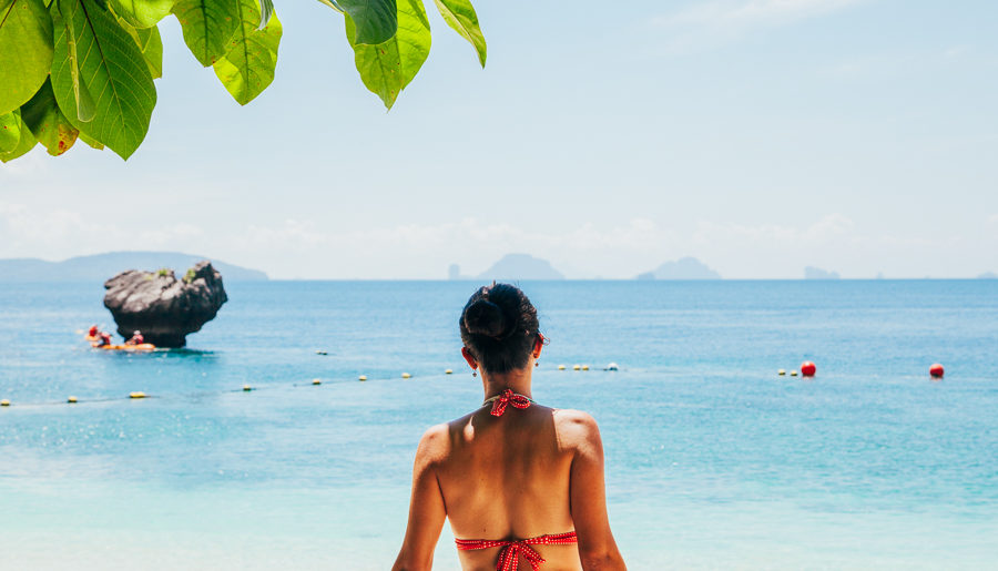 Hong Island: uma ilha perfeita na Tailândia!
