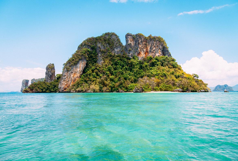 Ilha próxima a Koh Phak Bia