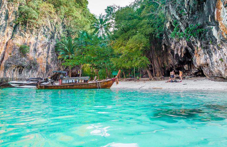 Longtail em Paradise Island