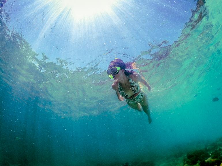 Snorkel em Hong Island