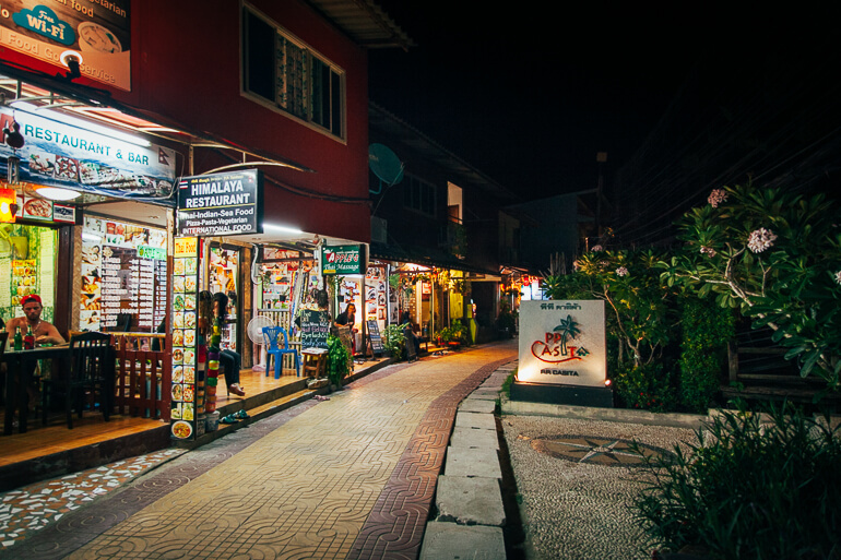 Koh Phi Phi a noite