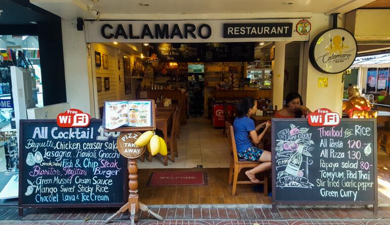 Restaurante Calamaro