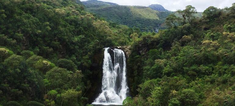 Cachoeira em Aiuruoca
