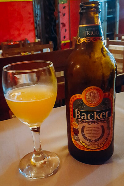 Cervejinha para acompanhar!