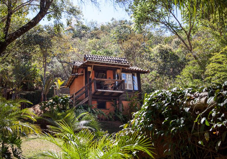 Chalé (parte alta) – Pousada Vila Solaris