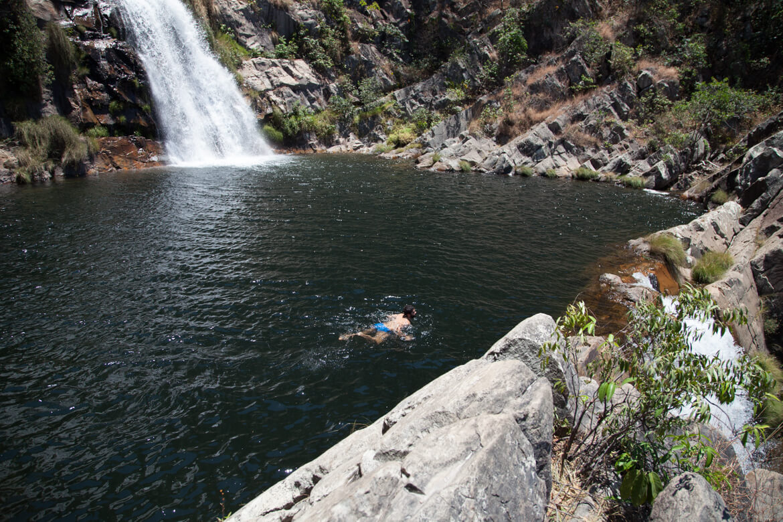 Cachoeira Candarú - 'piscina' de borda infinita