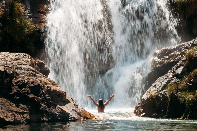 Cachoeira Candaru - um banho revigorante em suas quedas
