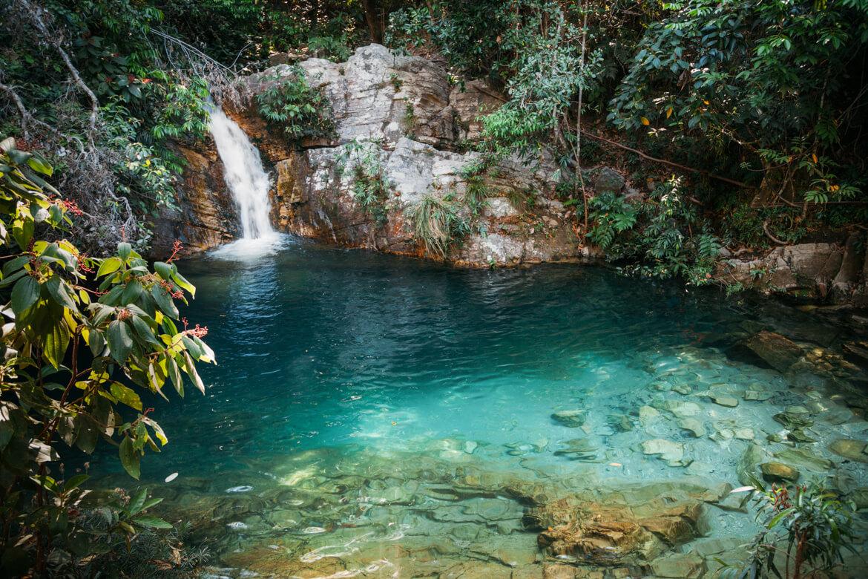 Cachoeira Santa Bárbara e Cachoeira Candarú - cachoeira Santa Barbarazinha, que fica pouco antes da Santa Bárbara