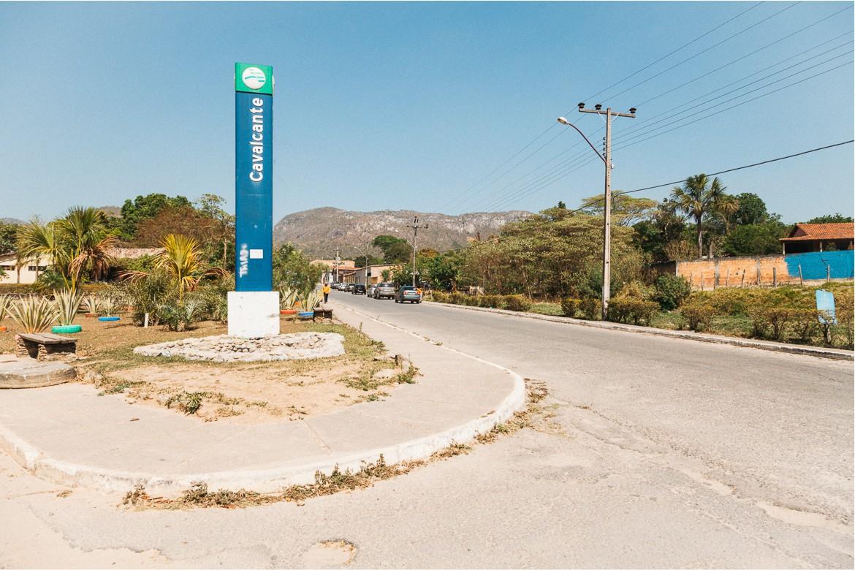Cachoeira Santa Bárbara e Cachoeira Candaru - cidadezinha de Cavalcante