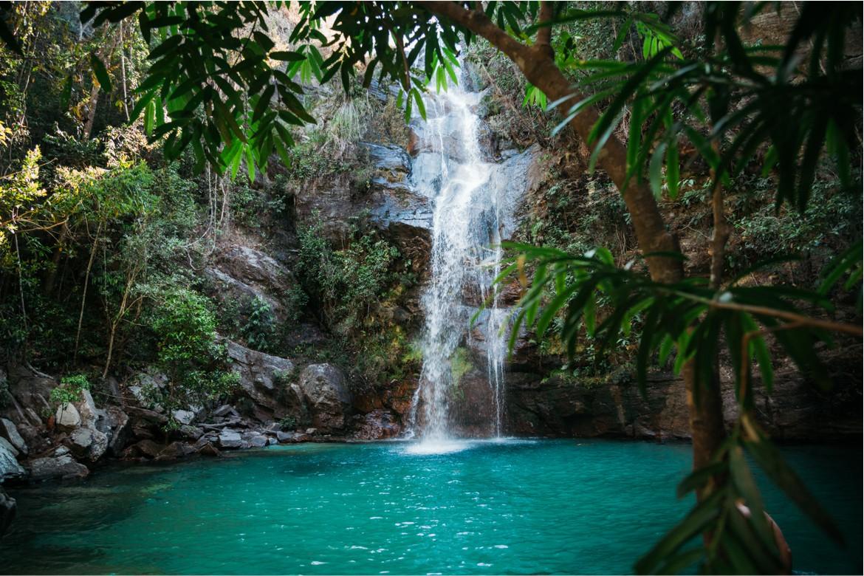 Cachoeira Santa Bárbara - é ainda mais bonita ao vivo!
