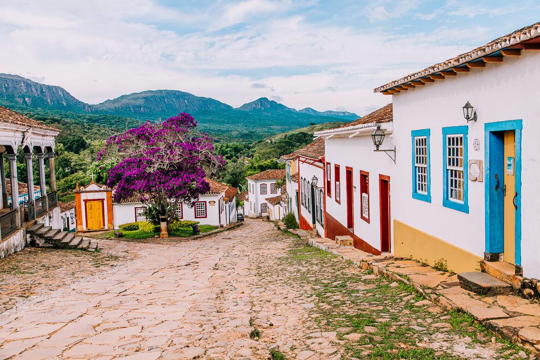 Uma das ruas lindas de Tiradentes MG