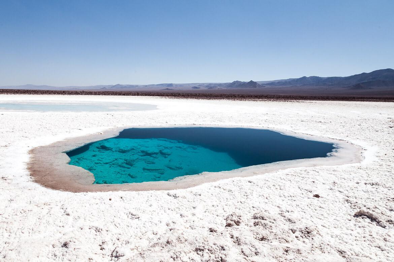 Roteiro no Deserto do Atacama - Lagunas Escondidas de Baltinache