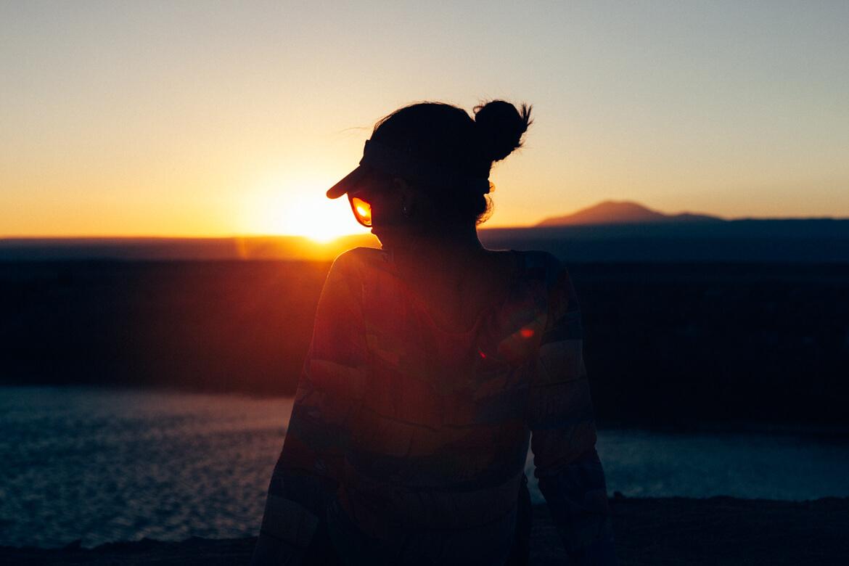 Tour Laguna Cejar - pôr do sol nos Ojos del Salar