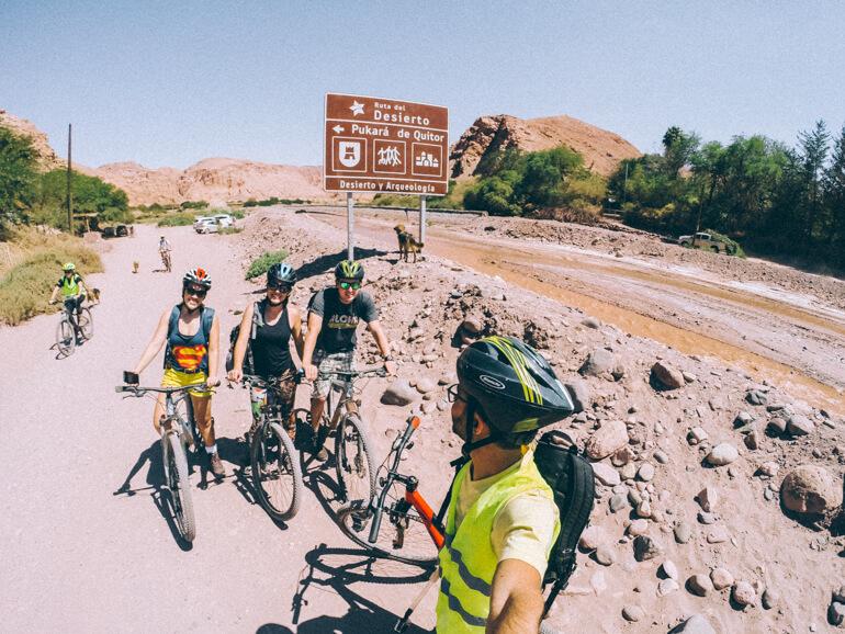 Pedalando no Deserto do Atacama até Pukara de Quitor