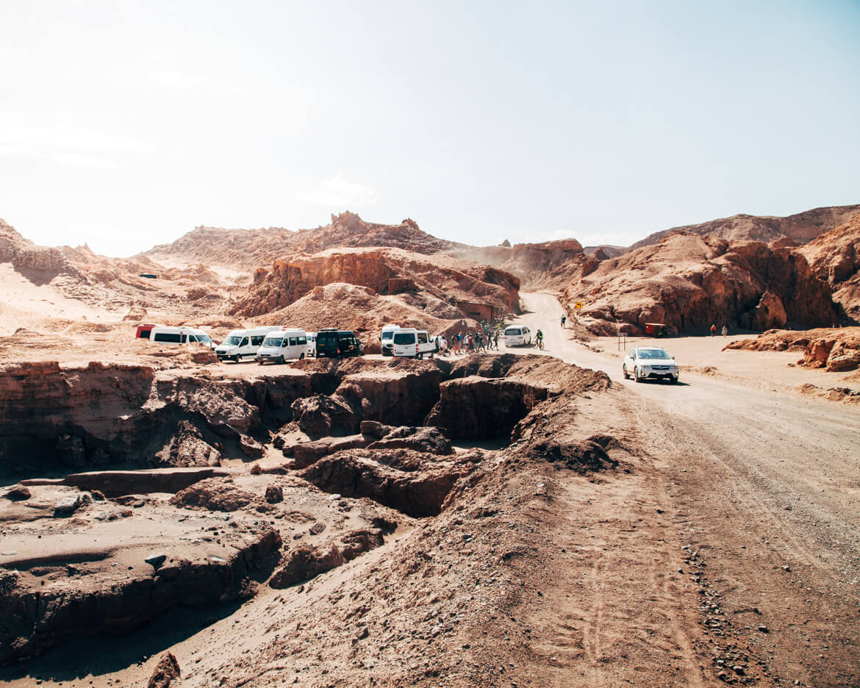 Valle de La Luna e Valle de La Muerte