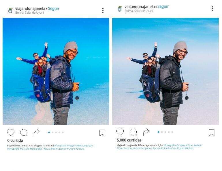 Não exagere na edição das suas fotografias | Viajando na Janela