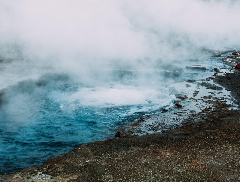 Geysers el Tatio - água em ebulição