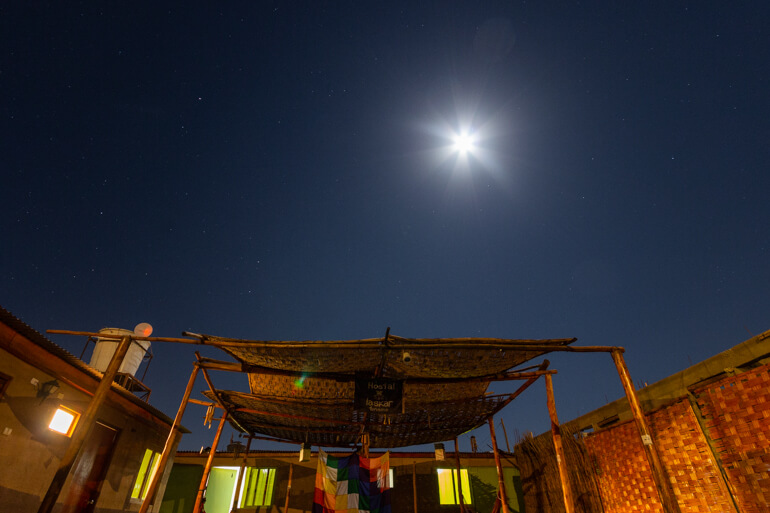Hostal Laskar, Deserto do Atacama