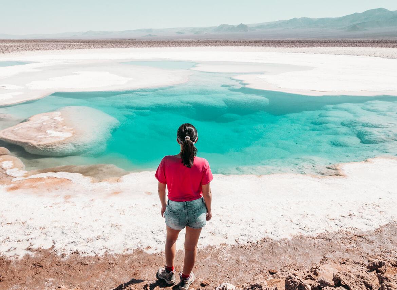 Lagunas Escondidas de Baltinache | a cor da água é surreal!