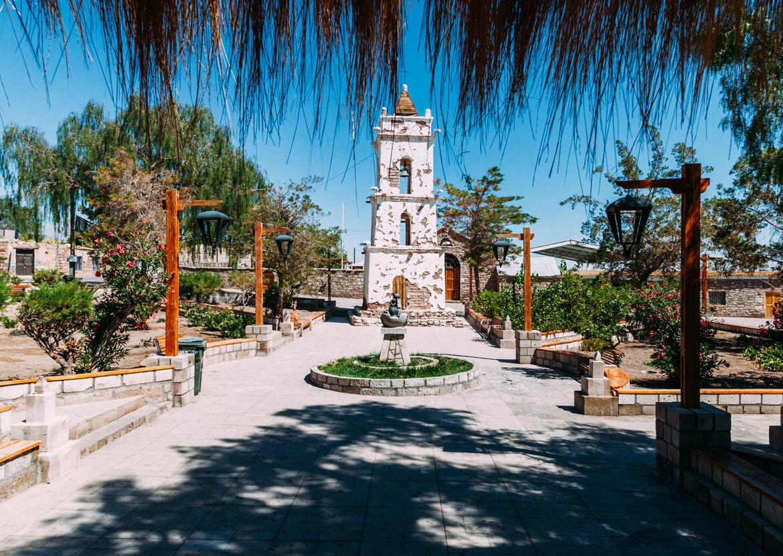 Praça do povoado Toconao