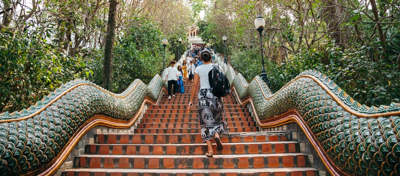 Templo Doi Suthep - Chiang Mai - Tailândia
