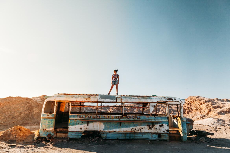 Lagunas Escondidas de Baltinache | o famoso ônibus abandonado