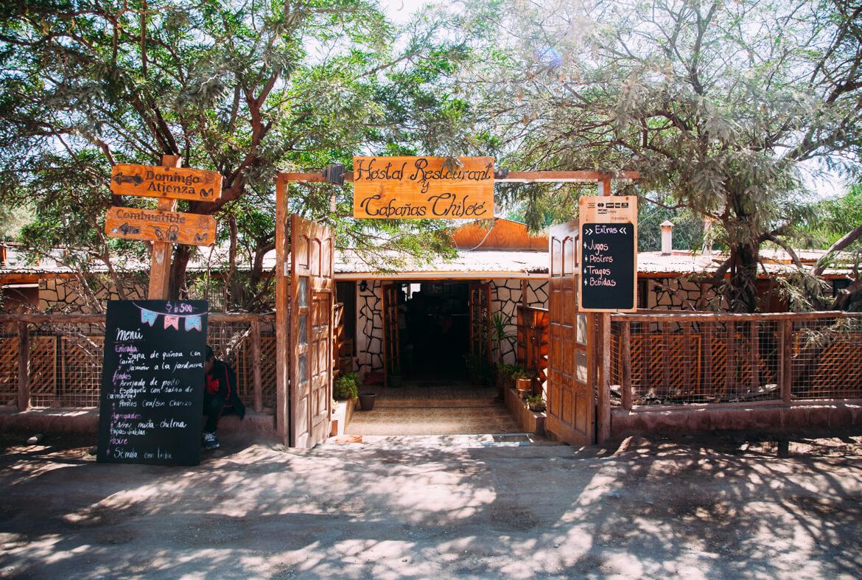 Tour Salar de Tara - restaurante Cabañas Chiloé, em San Pedro