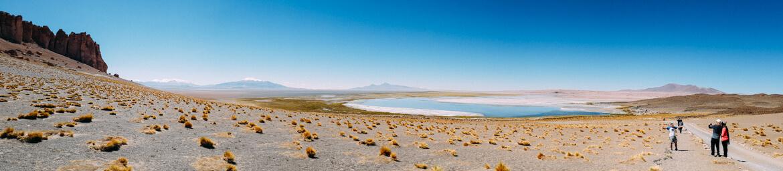 Foto panorâmica do Salar de Tara
