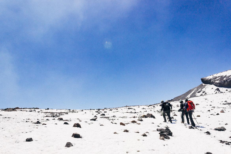 Vulcão Lascar - a poucos passos da cratera