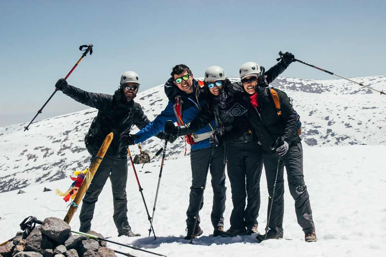 Vulcão Lascar - chegamos ao cume!