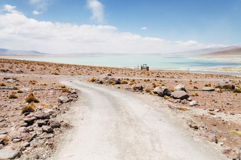 Laguna Salada   Viajando na Janela